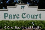 sign for Parc Court