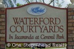 sign for Waterford Courtyards
