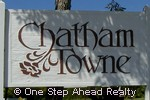 sign for Chatham Towne